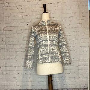 Girls Vineyard Vines Full-Zip Sweater Jacket